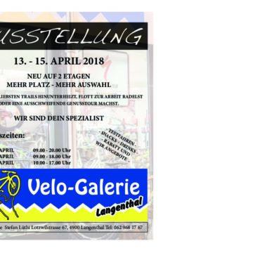 Ausstellung, 13. – 15. April 2018